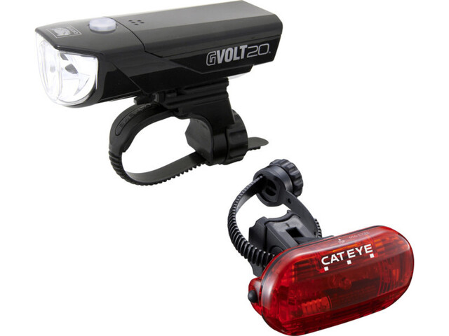 CatEye GVOLT20/OMNI3G Lighting Set EL350G/LD135G black
